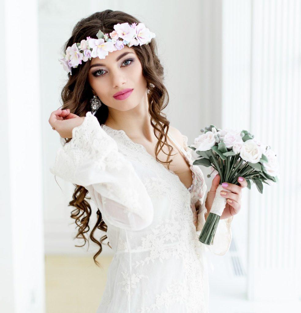 свадебный makeup