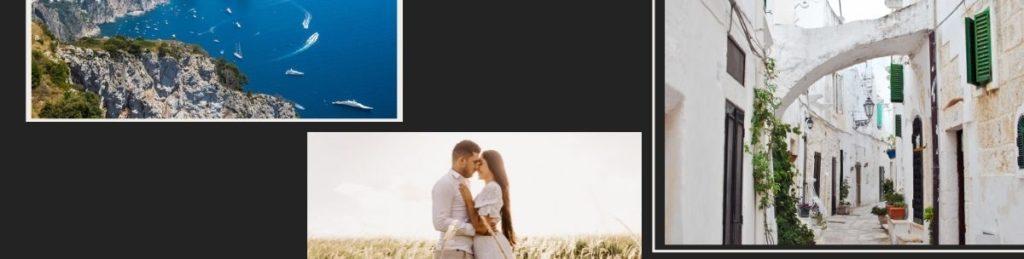 свадебный клип италия